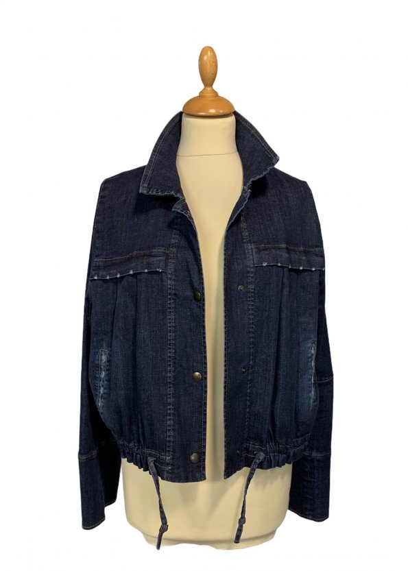 ז׳קט ג׳ינס כהה - ALEMBIKA 1