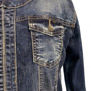ז׳קט ג׳ינס משופשף - ללא מותג 4