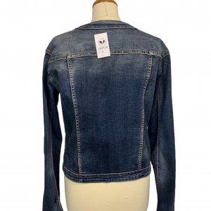 ז׳קט ג׳ינס משופשף - ללא מותג 2