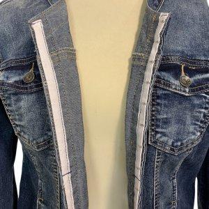 ז׳קט ג׳ינס משופשף - ללא מותג 6