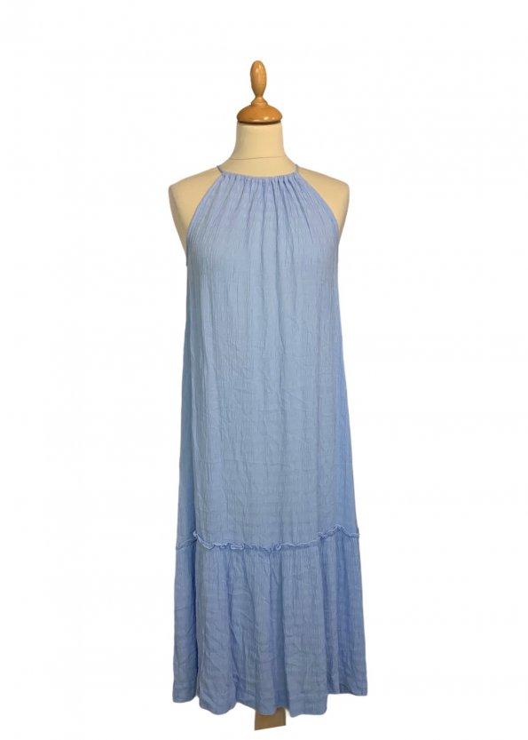 שמלת מקסי תכלת - VERO MODA 1