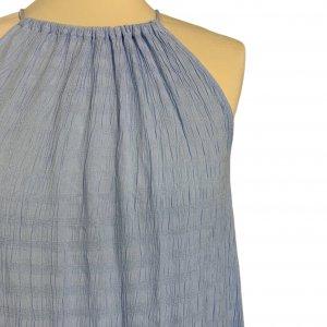 שמלת מקסי תכלת - VERO MODA 4