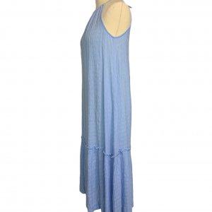 שמלת מקסי תכלת - VERO MODA 3