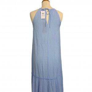 שמלת מקסי תכלת - VERO MODA 2