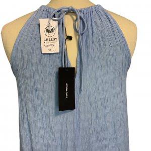 שמלת מקסי תכלת - VERO MODA 5
