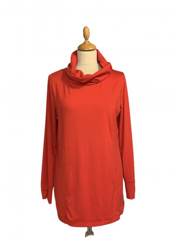 חולצה אדומה עם צאוורון גולף - WEEKENDS by Chico's 1