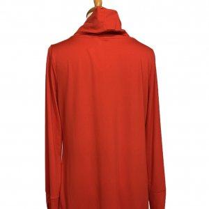 חולצה אדומה עם צאוורון גולף - WEEKENDS by Chico's 2