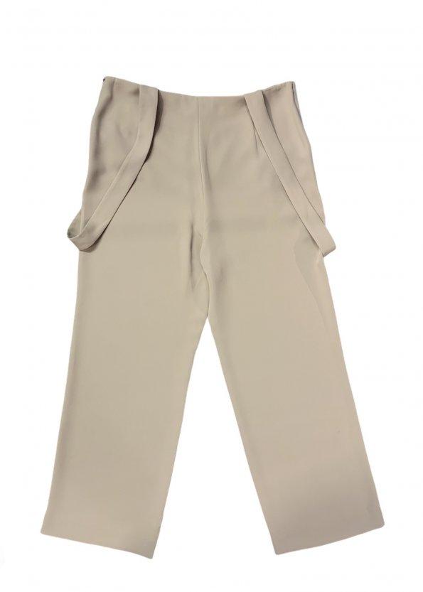 מכנס שמנת עם שלייקס - GIORGIO ARMANI 1