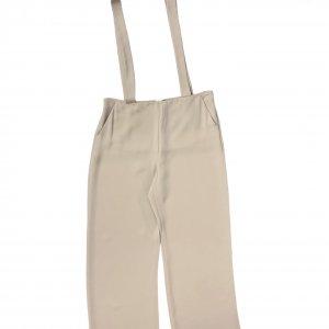 מכנס שמנת עם שלייקס - GIORGIO ARMANI 2