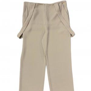 מכנס שמנת עם שלייקס - GIORGIO ARMANI 3