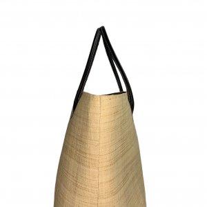 תיק קש גדול עם שק פנימי - LE COMPTOIR DE LA PLAGE 3