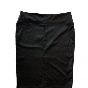 חצאית עיפרון עם שסע מאחור בצבע שחור - MORGAN 2