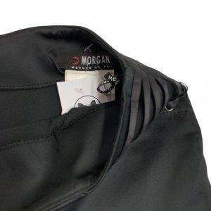 חצאית עיפרון עם שסע מאחור בצבע שחור - MORGAN 6