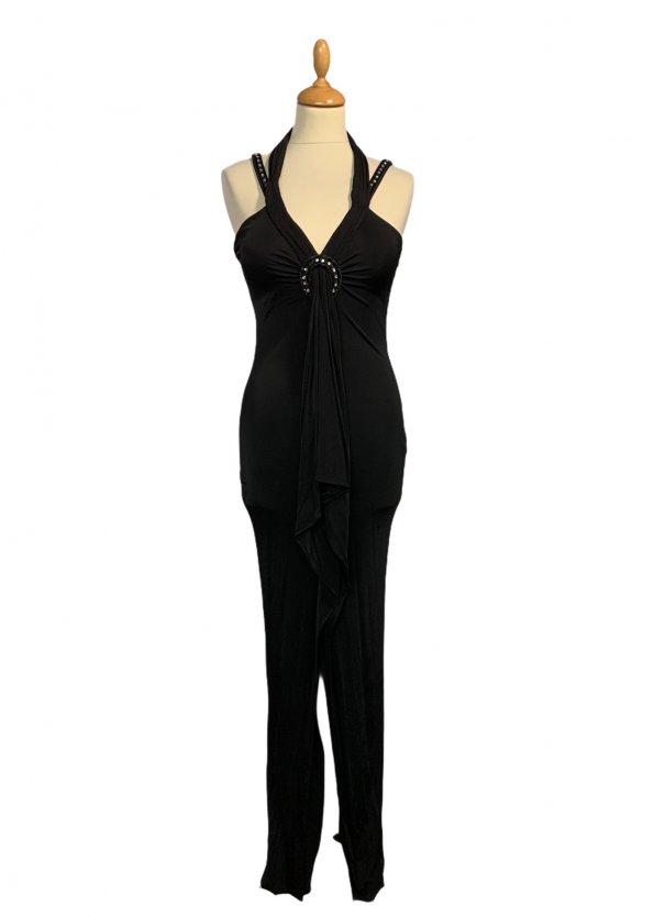 שמלת ערב שחורה - GIANFRANCO FERRE 1