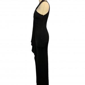 שמלת ערב שחורה - GIANFRANCO FERRE 3