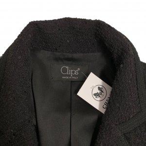 ג׳קט טוויד שחור עם פייטים - CLIPS 6