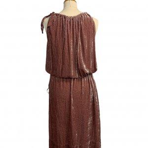 שמלת קטיפה ורודה BCBG 2