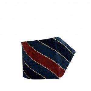 עניבה קווים אלכסוניים כחול אדום צהוב - BALLY 2