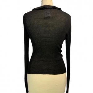 חולצת סריג שחורה - Gucci 2
