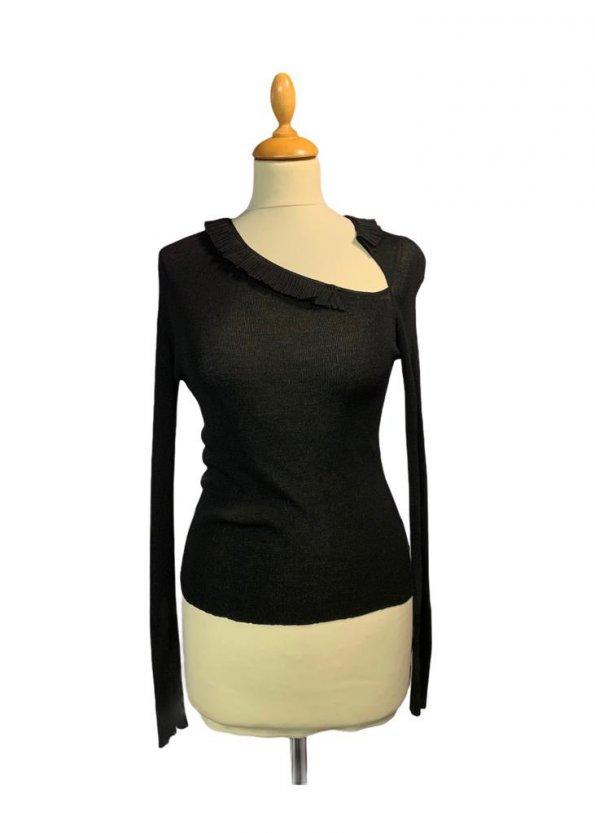 חולצת סריג שחורה - Gucci 1