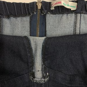 שמלת ג׳ינס צמודה - NO NAME 3