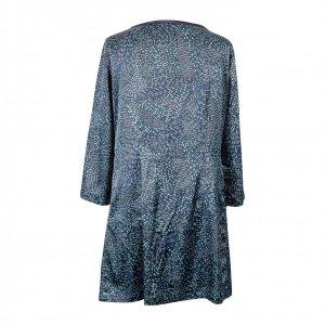 שמלת סאטן ירוקה עם אבני חן - MICHAEL KORS 4