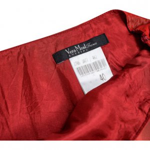 חצאית אורגנזה מקסי אדום - VERA MONT 3