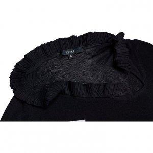 חולצת סריג שחורה - Gucci 5