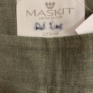 מכנסיים ארוכים פשתן - משכית (MASKIT) 4