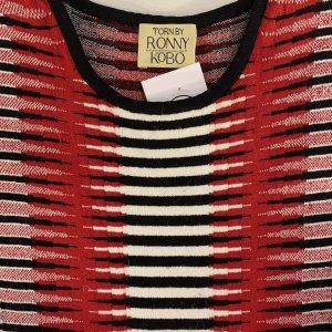 שמלה סרוגה גווני אדום - Ronny Kobo 6
