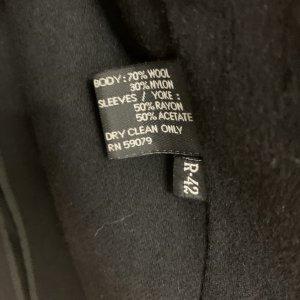 מעיל טרנץ שחור לגבר - KASPER 8
