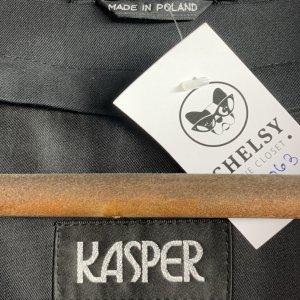 מעיל טרנץ שחור לגבר - KASPER 9