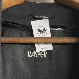 מעיל טרנץ שחור לגבר - KASPER 10
