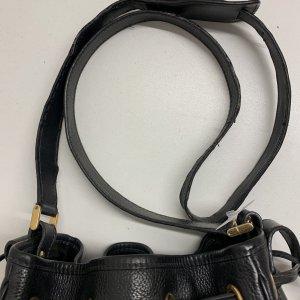 תיק כתף שחור עור וינטג׳ - Gucci 9