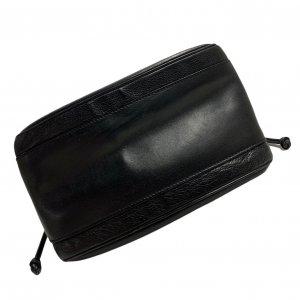 תיק כתף שחור עור וינטג׳ - Gucci 8