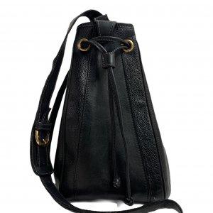 תיק כתף שחור עור וינטג׳ - Gucci 5