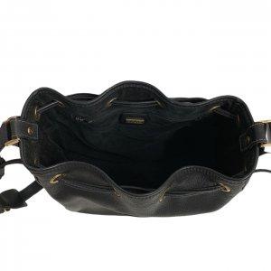 תיק כתף שחור עור וינטג׳ - Gucci 6