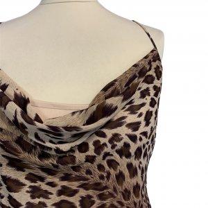 שמלת ערב וינטג׳ מנומר עם חרוזים רקומים - וינטג׳ 6