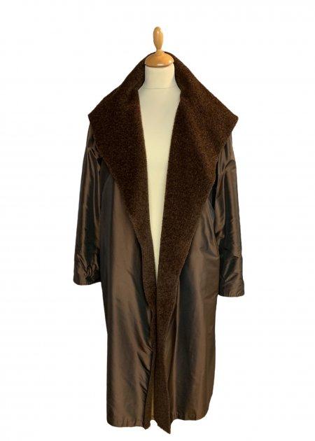 מעיל כתום עם קפוצון - KARL LAGERFELD 15