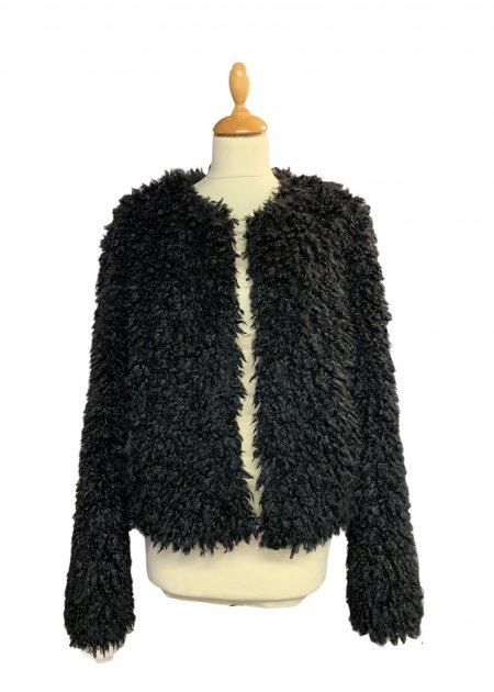 מעיל כתום עם קפוצון - KARL LAGERFELD 17