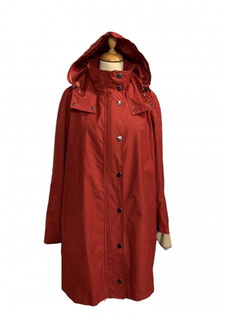 מעיל כתום עם קפוצון - KARL LAGERFELD 11