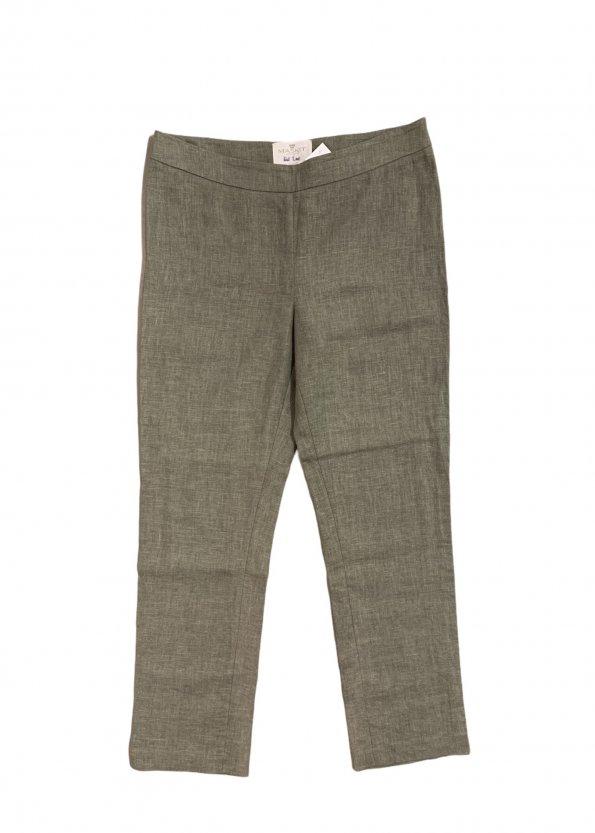 מכנסיים ארוכים פשתן - משכית (MASKIT) 1