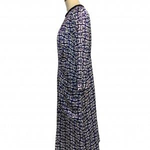 שמלת ויסקוזה כחול לבן -  MARNI 3