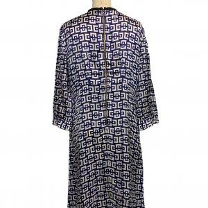 שמלת ויסקוזה כחול לבן -  MARNI 2