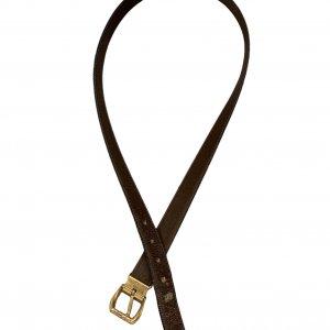 חגורה חומה וינטג׳ Gianni Versace 4