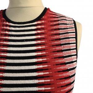 שמלה סרוגה גווני אדום - Ronny Kobo 4