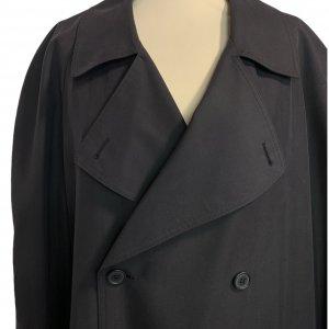 מעיל טרנץ שחור לגבר - KASPER 4
