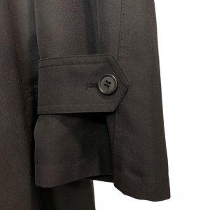מעיל טרנץ שחור לגבר - KASPER 5