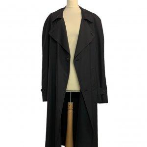 מעיל טרנץ שחור לגבר - KASPER 3