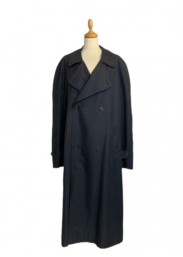 מעיל טרנץ שחור לגבר - KASPER 1